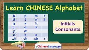 The correct phonetic alphabet writing practice. Learn Chinese Alphabet 23 Initials Consonants Learn Mandarin Chinese Alphabet Pinyin Pronunciation Youtube