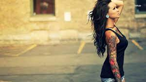 Girl Tattoo Wallpapers Group (77+)