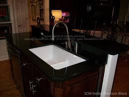 granite kitchen indian premium black cast iron sink