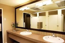 public bathroom mirror. Simple Bathroom Bathroom Mirror Decor Large Size Of Rectangular Public  Modern Lighting Near Stainless Steel Faucets To Public Bathroom Mirror T