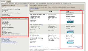 Ups International Shipping Rates Chart 5 Simple Steps To Send Package Through Ups Shipping