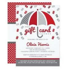 gift card bridal shower invitation wording bridal shower Wedding Shower Gift Cards gift card bridal shower invitation in red and gray wedding shower gift cards to print