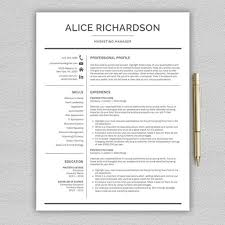 Professional Resume Templates 2013 Professional Resume Template For Word Professional Cv Template Modern Resume Template Cover Letter Resume Template Instant Download