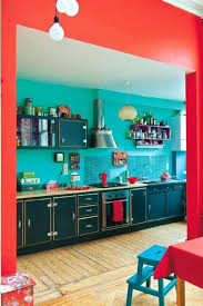 red and turquoise kitchen best teal coca cola images