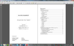 Bachelorarbeit Korrekturlesen