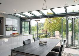 APC1 Stunning Aluminium Powder Coated High Specification Glass Extension