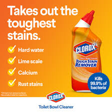 Clorox Care Symbol Chart Clorox Toilet Bowl Cleaner Tough Stain Remover Without Bleach 24 Oz 2 Pack