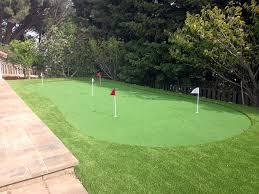outdoor carpet cantu addition texas putting green grass backyard design