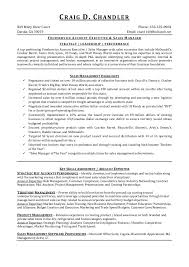 Food Service Resume Amazing Craig D Chandler Foodservice Resume 28 28 28283