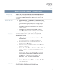 senior business analyst resume samples tips and templates business analyst job description and template