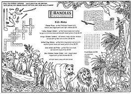 Here is a list of 10 cartoon coloring sheets that features most favorite cartoon characters that your child will love coloring Animal Front Children S Menus Restaurant Menu Covers By Menusplus Restaurant Menu Covers Menu Restaurant Coloring For Kids