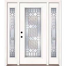 white single front doors. Wonderful Front 675 Inx81625inMission Pointe Zinc Full Lt Prime Smooth Unfinished Rt To White Single Front Doors O