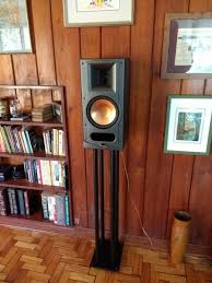 one of my old klipsch rb 35 s no longer made bookshelf speakers