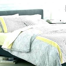 yellow and grey bedding yellow grey yellow white comforter