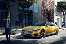 2018 volkswagen sedan. contemporary sedan 2018 volkswagen arteon front left with volkswagen sedan