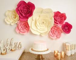 Pink Paper Flower Decorations Large Paper Flower Decorations Magdalene Project Org