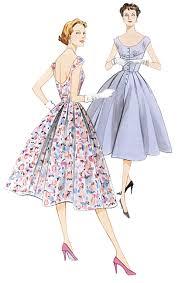 Vogue Dress Patterns Beauteous 48 Vintage Vogue Dress Pattern V48 Vogue V48 Dress Pattern