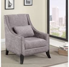 Chair Queen Anne Accent Chair Wicker Accent Chairs Comfy Gray