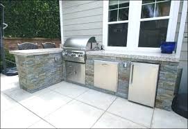 prefab outdoor kitchen grill islands island kits awesome for