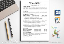 Resume Template Nina Bell