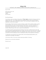 Chemist Cover Letter Sample Resume Chemistry Letters Crime Lab Ideas
