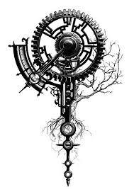 Mechanized Tree Of Life More Tatooooooo Tattoos Life Tattoos A