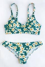 Bathing Suit Top Size Chart Cute Suit Floral Print Bikini Set Clothes In 2019 Girls