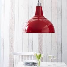 Red Kitchen Pendant Lights Large Pendant Light By The Contemporary Home Notonthehighstreetcom