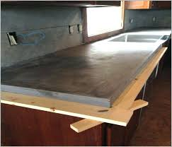 concrete countertops diy cost concrete concrete counters poured over laminate average cost concrete how much does