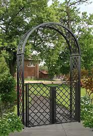 portofino garden arch with garden gate
