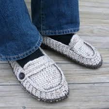 Mens Crochet Slippers Pattern