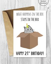 printable 21st birthday cards 21st birthday printable cards funny 21st birthday cards