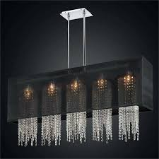 chandeliers swarovski crystal strands for chandelier rectangular shade chandelier with crystal strands omni 627a by