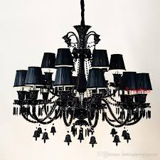european style crystal chandelier in the living room lamps simple modern bedroom lamp pendant lights retro creative restaurant candle light chandelier table
