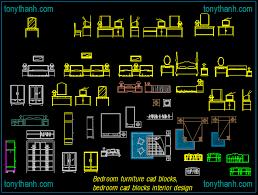 Bedroom furniture cad blocks, bedroom cad blocks interior design