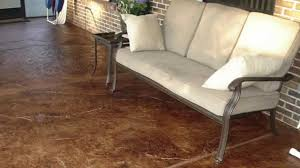 Concrete Stain Designs Color Your Concrete With A Colored Stain