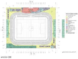 Stadium Planning Design Football Stadium Zliten