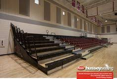 27 best fave bleacher installations images on pinterest in 2018 Retractable Gym Seating at Hussey Seating Wiring Diagram