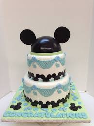 Mickey And Minnie Baby Shower Cakes  Party XYZBaby Mickey Baby Shower Cakes