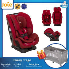 joie every stage convertible car seat