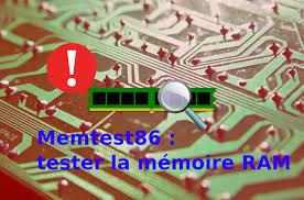 memtest86 tester la mémore ram de son
