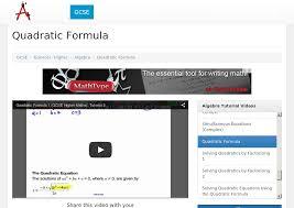 simultaneous equations with a quadratic edexcel answers tessshlo