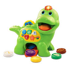 vtech count chomp dino with healthy treats for counting learning