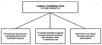 Семейные правоотношения Защита прав и интересов несовершеннолетних субъектов семейных правоотношений диплом