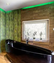 lighting in a bathroom. Flexible LED Lighting Tape - IP65 RGBW In A Bathroom