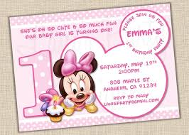 Free Printable Baby Mickey Mouse Invitations Baby Minnie Mouse Invitation Template Orderecigsjuice Info