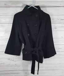 cashmere wool peacoat style coat by hilary radley 4