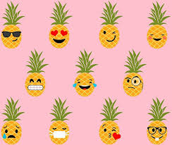 Pineapple Pattern Magnificent Cute Pineapple Pattern Posters By CatByDesign Redbubble