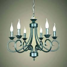 amazing rustic candle chandelier or rustic candle chandelier black iron candle chandelier black candelabra chandelier medium