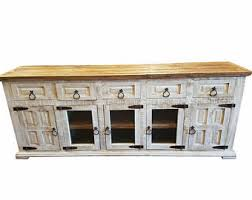 white rustic tv stand. 80 inch hi end rustic tv stand 5 doors drawers western solid wood white distressed tv n